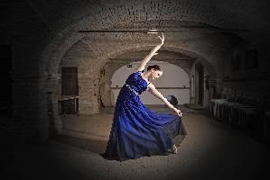 Ballerina-Blau
