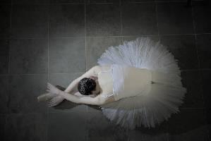 Ballerina-Weiss