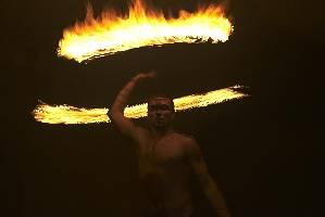 Feuer-Stab