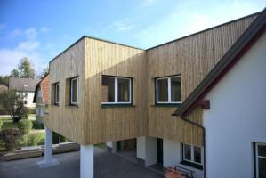 Holzbau-Haus